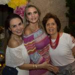 Adriana Bezerra, Michele Aragão E Didiê Câmara
