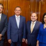Camilo Santana, Washington Soares, Roberto Claudio E Nailde Pinheiro (2)
