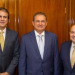 Camilo Santana, Washington Soares E Roberto Claudio (9)