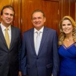 Camilo Santana, Washington Soares E Rosangela De Franceso (1)