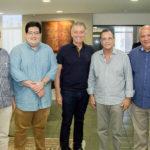 Ednardo Assim, Yuri Torquato, Afrânio Barreira, Beto Stdart E Pedro Alfredo (1)