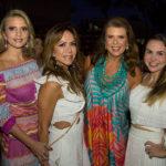 Michele Aragão, Sakie Brookes, Alexandra Pinto E Adriana Bezerra (2)