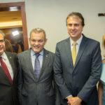 Zezinho Albuquerque, José Sarto, Camilo Santana E Iracema Vale (1)