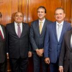 Zezinho Albuquerque, Teodoro Silva. Camilo Santana, Washington Araújo E Gladson Pontes (3)