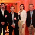 André Pires, Sérgio Resende, Isabeça Martins E Fábio Campos_