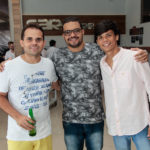 Bruno Sales, Cairlano Machado E Ariel Aragão