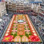 Bruxelas Carpete Flores Grand Place
