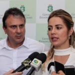 Camilo Santana E Onélia Leite 3