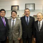 Carlos Mesquita, Bosco Macedo, Artur Bruno E Idalmir Feitosa (1)