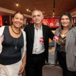 Cida Parente, Lauriberto Braga E Lúcia Ribeiro_