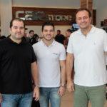 Davi Feitosa, Felipe Moreira E Adriano Nogueira