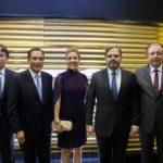Edgar Gadelha, Beto Studart, Ticiana Queiroz, Edson Queiroz E Ricardo Cavalcante