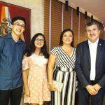 Esdras Henrique, Rebeca Bandeira, Edileuza Bandeira E Antonio Henrique Bandeira (1)
