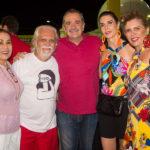 Fátima Bandeira, Joquim Cartaxo, Bismarck Maia, Glaucia Bismarck E Denise Menezes (1)