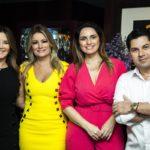 Fernanda Matozzo, Tatiana Luna, Mirna Paz E Pompeu Vasconcelos