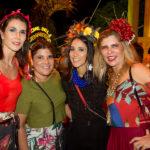 Glaucia Bismarck, Gisela Dias Branco, Nádia Bismarck e Denise Menezes