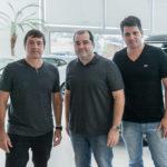 Igor Ribeiro, David Feitosa E Newton Basto