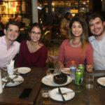 Lucas Melo, Flavia Campos, Carol Esmeraldo E Ted Pontes