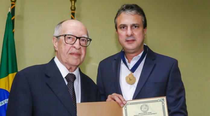 Lucio Alcantara E Camilo Sobreira De Santana