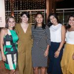 Marcela Carvalho, Vanessa Estevam, Raquel Nobre, Gabriela Ribeiro E Isadora Frota