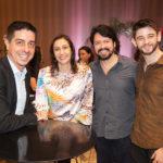 Marcio Correa, Renata Granjeiro, Felipe Medina E Victor Alen