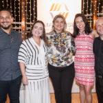 Paulo Dorneles, Andrea Coelho, Poliana Nobre, Patricia Minerva E Magno Menezes