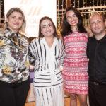 Poliana Nobre, Andrea Coelho, Patricia Minerva E Magno Menezes