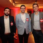 Rafael Araújo, Laerte Castro Alves E Maurício Garcia