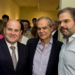 Roberto Claudio, Max Perlingeiro E Edson Queiroz Neto