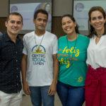 Roberto Júnior, Leandro Cruz, Camila Correia E Gisele Studart (1)