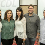 Carla Laprovítera, Márcia Teixeira, Flávia Laprovítera, Daniel Simões E Gera Laprovítera (3)