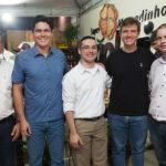 Carlos Henrrique, Felipe Figueiredo, Diego Tavares, Andre Turton E Gilberto Braga