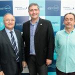 Delano Gadelha, André Corte Real E Ozair Gomes