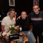 Eduardo Rebouças, André Negreiros E Ilário Leite
