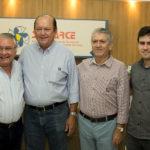 Idemar Citó, Rafael Leal, Clóvis Bezerra E Idemar Filho (1)