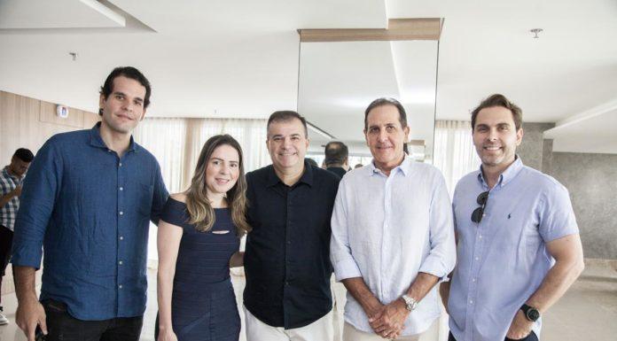 Joao Fiuza, Agueda Muniz, Ricardo Bezerra, Joao Fiuza E Carlos Fiuza (2)