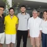 Lucas Avelino, João Cabral Filho, Felipe Pol, Chico Estêves E Clarisse Holanda (1)