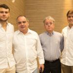 Pedro Diógenes, Ricardo Nogueira, Eduardo Farias E Felipe Nogueira