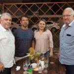 RIcardo Studart, Cassio Barros E Geane Barros E Arnoldo Studart