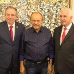 Ricardo Cavalcante, Honório Pinheiro E Carlos Prado (1)