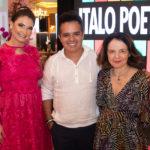 Ana Clara Rocha, Ítalo Poeta E Valéria Xavier (1)