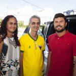 Eliane Alves, Eduardo Guabiraba E Diego Mattei