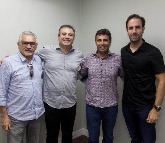 Emanuel Capistrano, Ricardo Bezerra, Marcos Novaes E Vitor Frota 6