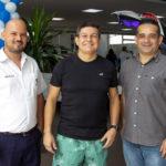 George Moreira, Jairo Primo E Júnior Pinto (2)