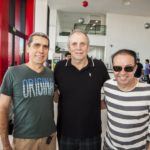 Joao Pontes, Newton Basto E Werner Rolim