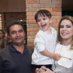 Luiz Cesar, Luiz Cesar Filho E Joana Caetano