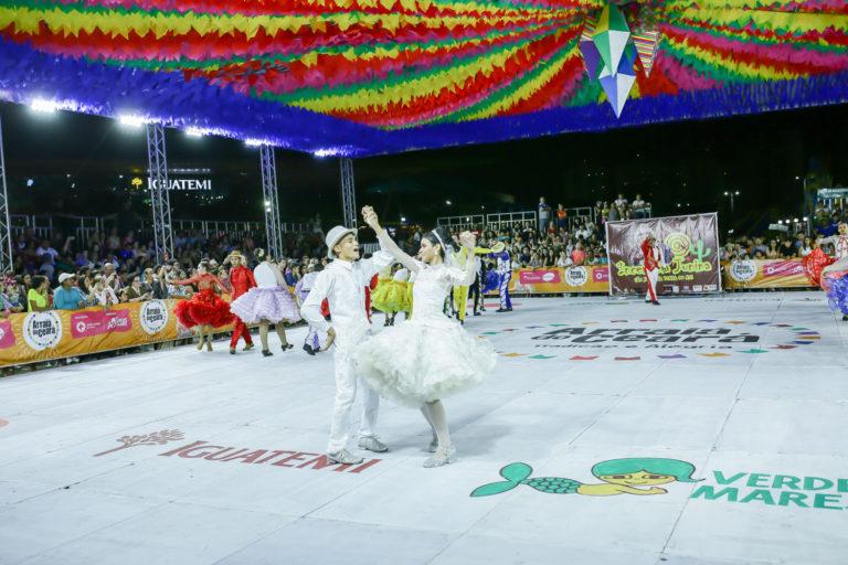 Arraiá do Iguatemi promove disputa de quadrilhas; Junina Babaçu leva o título