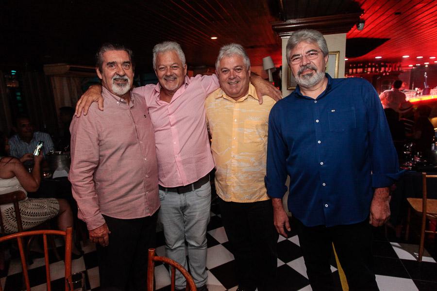 Américo Picanço Alfredo Abreu Murilo Abreu E Mário Guimarães 31 2