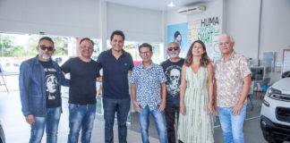 Carlus Campos, Marcos Oriá, Ricardo Feitosa, Mario Sanders, Cardoso Junior, Fabiana Azeredo E Julio Maciel
