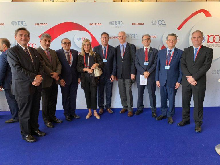 Luiz Gastão integra comitiva da CNC em conferência na Suíça